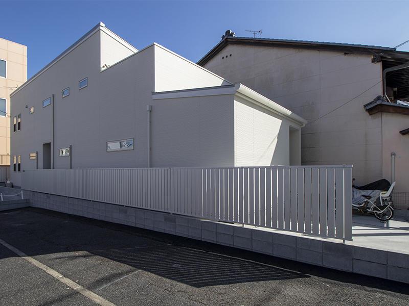 二世帯住宅フォーセンス新築完成|外構