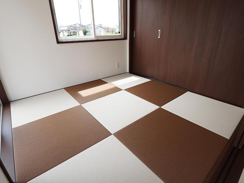 新築ゼロキューブ完成 畳の色もおしゃれ|滋賀で家を建てるなら匠工房