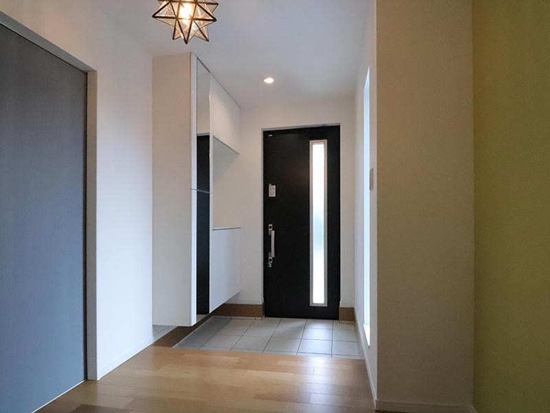 フォーセンス新築完成 建具もおしゃれ|滋賀で家を建てるなら匠工房