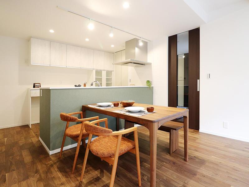 新築フォーセンス完成 ダイニング・キッチンDK|滋賀で家を建てるなら匠工房