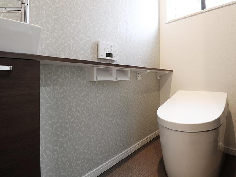 新築フォーセンス完成 1階:トイレ|滋賀で家を建てるなら匠工房