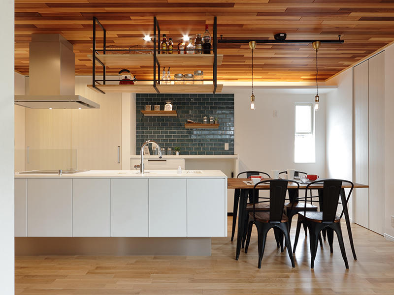 キッチンスペース オープンキッチン