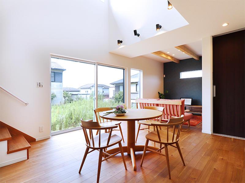フォーセンス新築完成 ダイニング|滋賀で家を建てるなら匠工房