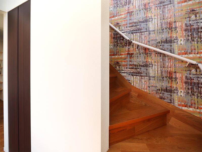 フォーセンス新築完成 リビング階段|滋賀で家を建てるなら匠工房