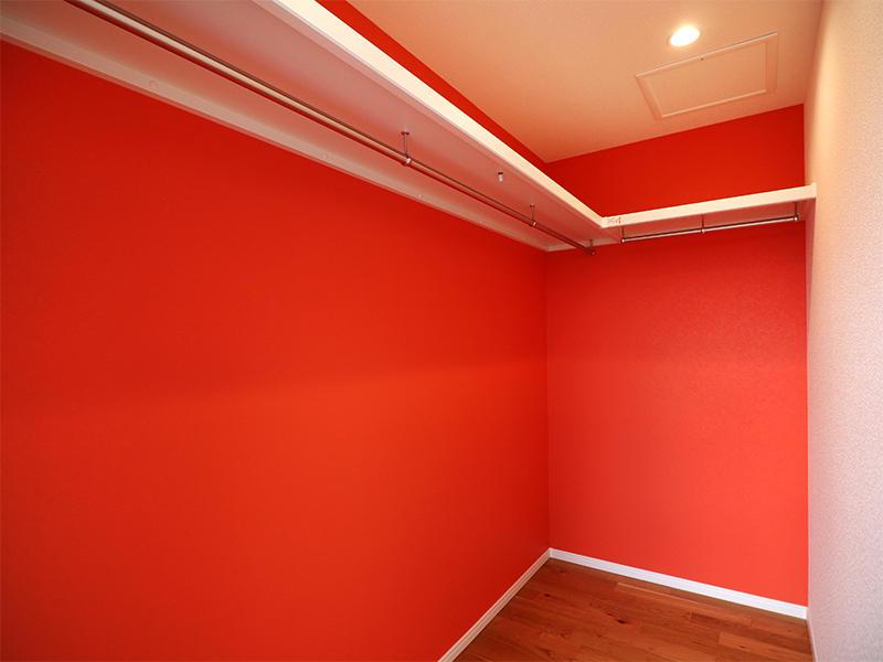 フォーセンス新築完成 アクセントクロス シンコール BA3064|滋賀で家を建てるなら匠工房