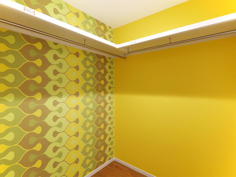 フォーセンス新築完成 アクセントクロス TOKIWA TDE50101|滋賀で家を建てるなら匠工房