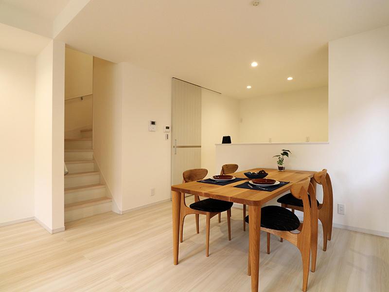 フォーセンス完成 ダイニング・キッチン|滋賀で新築建てるなら匠工房