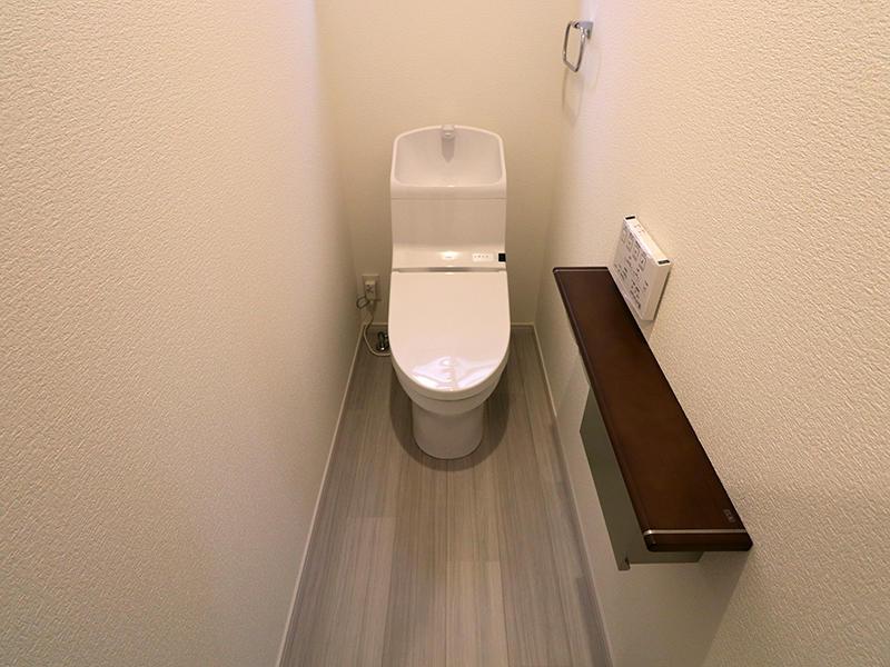 フォーセンス完成 1階トイレ|滋賀で新築建てるなら匠工房