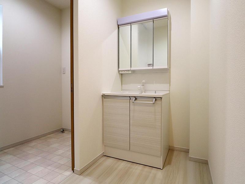 フォーセンス完成 洗面台|滋賀で新築建てるなら匠工房