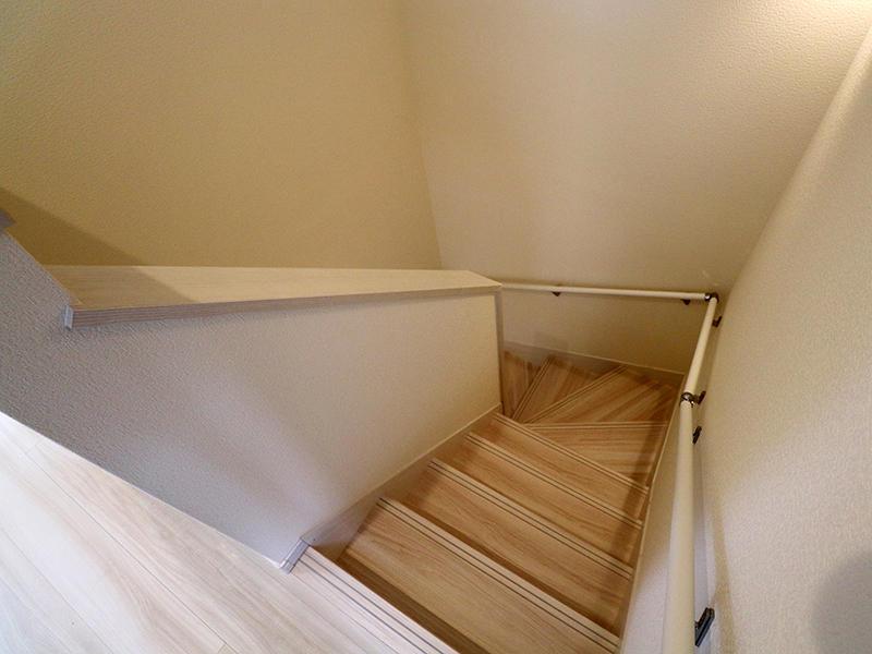 フォーセンス完成 階段|滋賀で新築建てるなら匠工房