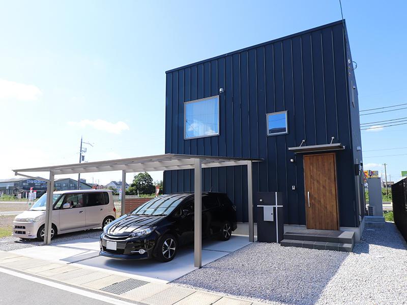 新築ゼロキューブ完成 外構|滋賀で家を建てるなら匠工房
