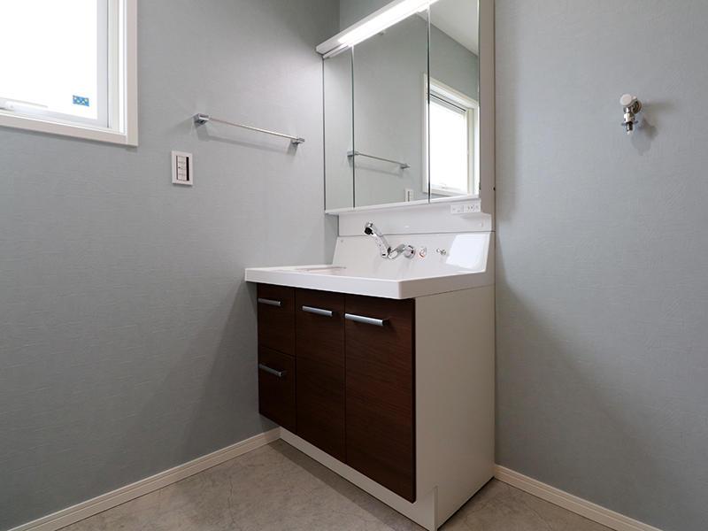 新築ゼロキューブ 洗面台|滋賀で新築建てるなら匠工房