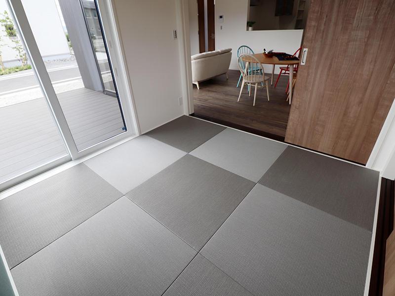 新築ゼロキューブ 琉球風畳|滋賀で新築建てるなら匠工房