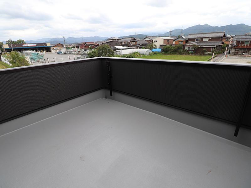 新築ゼロキューブ バルコニースペース|滋賀で新築建てるなら匠工房