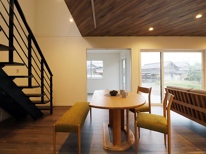 ゼロキューブ新築完成 ダイニング|滋賀で家を建てるなら匠工房