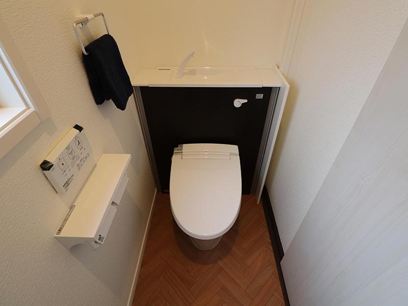 ゼロキューブ新築完成 1階 トイレ|滋賀で家を建てるなら匠工房
