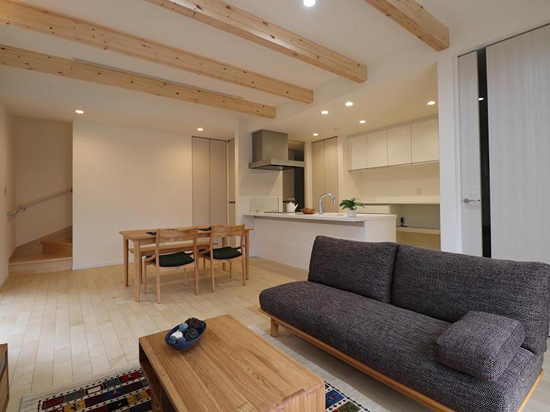 新築フォーセンス完成 リビング・ダイニング|滋賀で家を建てるなら