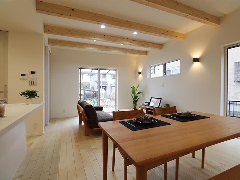 新築フォーセンス完成 ナチュラルテイスト|滋賀で家を建てるなら