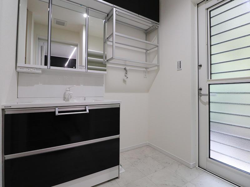新築フォーセンス完成 洗面台|滋賀で家を建てるなら