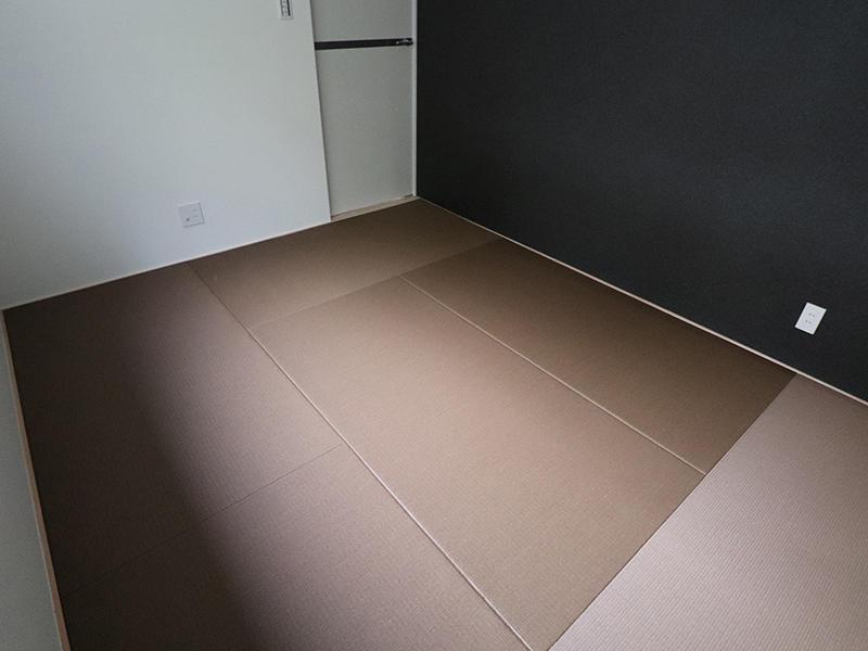 新築フォーセンス完成 ブラウン系の畳|滋賀で家を建てるなら