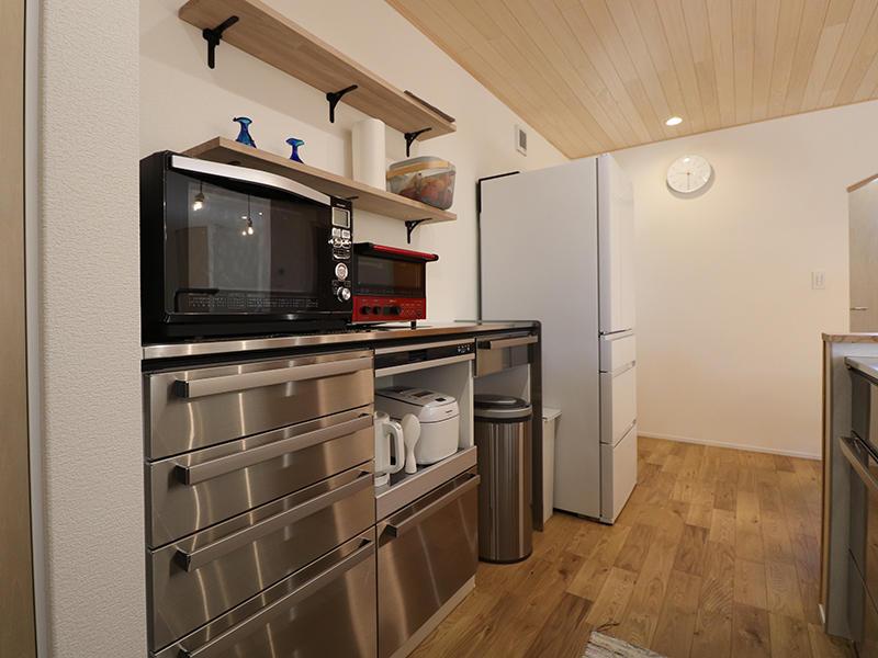 新築完成 キッチン収納|滋賀で家を建てるなら匠工房