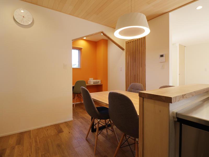 新築完成 ダイニングスペース|滋賀で家を建てるなら匠工房