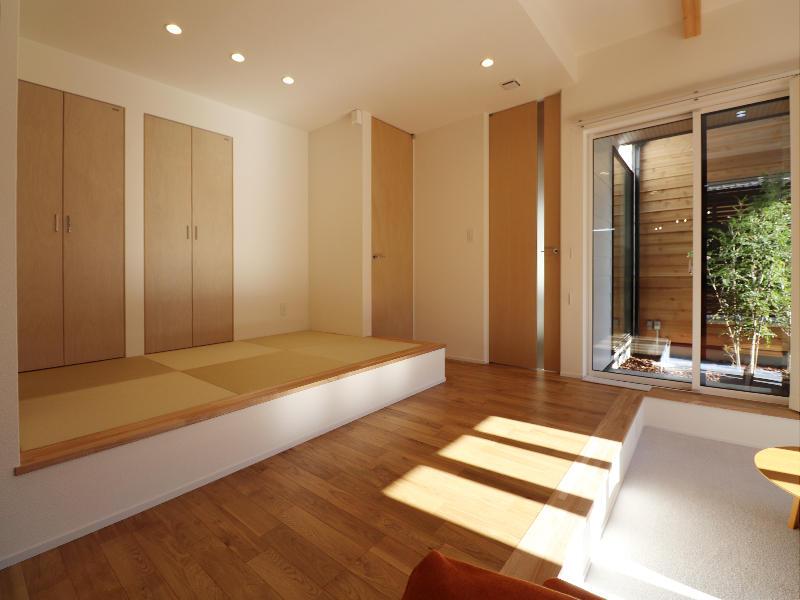 新築完成 和室 畳|滋賀で家を建てるなら匠工房