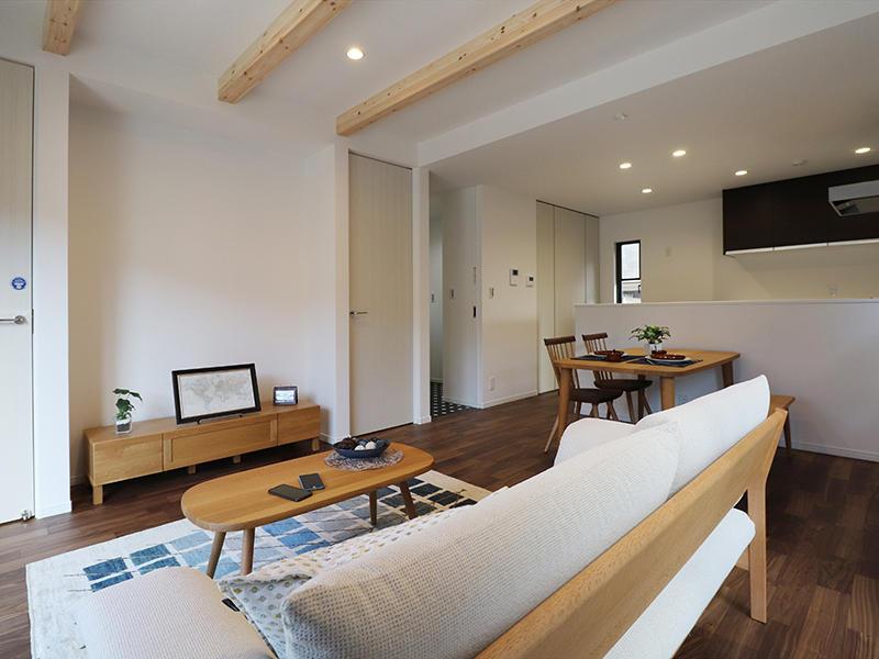 新築フォーセンス完成 リビング・ダイニング|滋賀で家を建てるなら匠工房