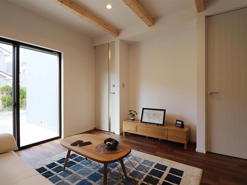 新築フォーセンス完成 リビングルーム|滋賀で家を建てるなら匠工房