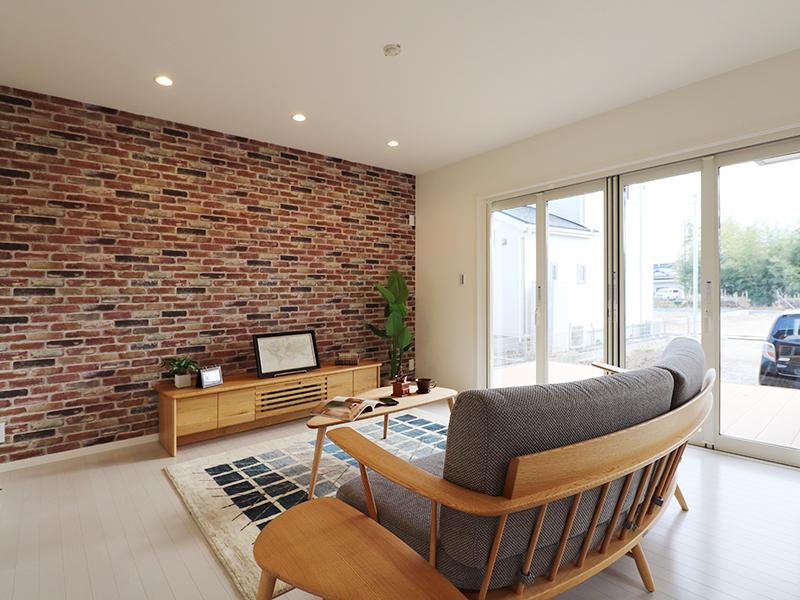 ゼロキューブ新築 リビング|滋賀で家を建てるなら匠工房
