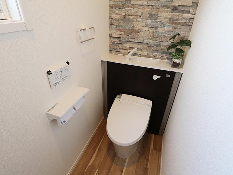 ゼロキューブ新築 1階トイレ|滋賀で家を建てるなら匠工房
