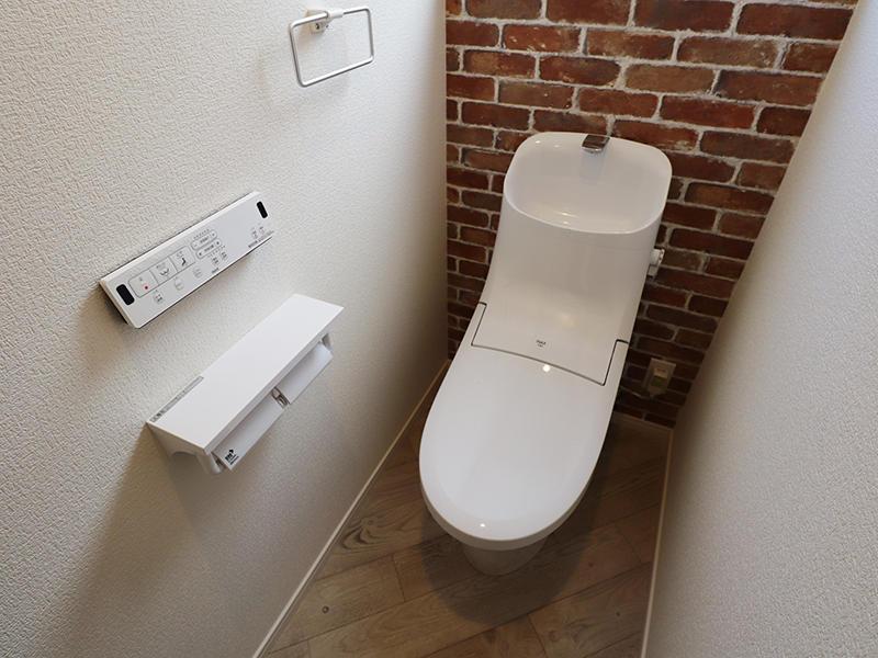 ゼロキューブ新築 2階トイレ|滋賀で家を建てるなら匠工房
