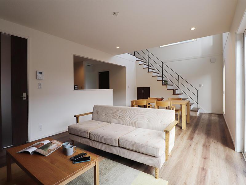 ゼロキューブ新築 リビングスペース|滋賀で家を建てるなら匠工房