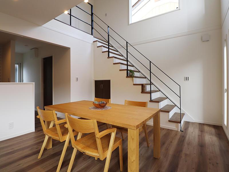 ゼロキューブ新築 ダイニング|滋賀で家を建てるなら匠工房