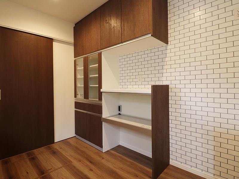 ゼロキューブ新築 カップボード|滋賀で家を建てるなら匠工房