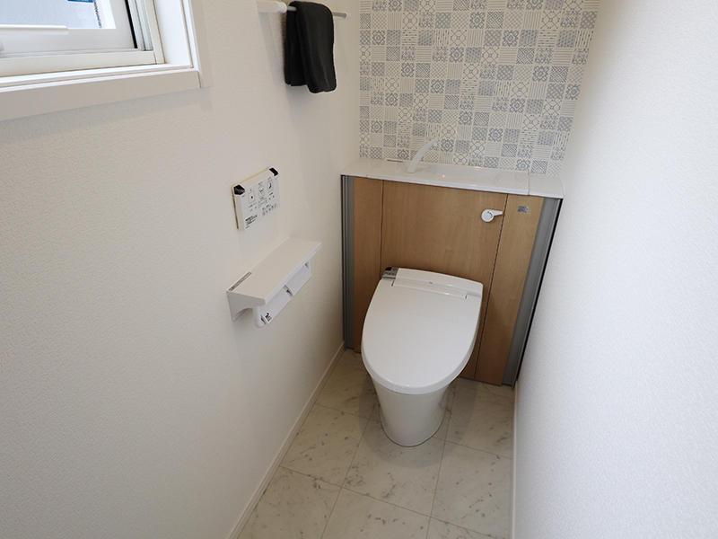 新築ゼロキューブ完成 トイレ|滋賀で家を建てるなら匠工房