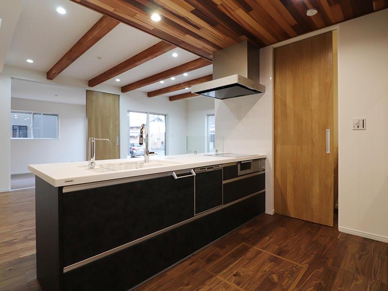 新築フォーセンス完成 キッチン|滋賀で家を建てるなら匠工房