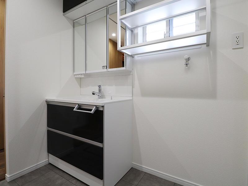 新築フォーセンス完成 洗面|滋賀で家を建てるなら匠工房