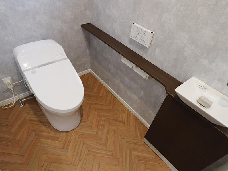 新築フォーセンス完成 トイレ 1階|滋賀で家を建てるなら匠工房