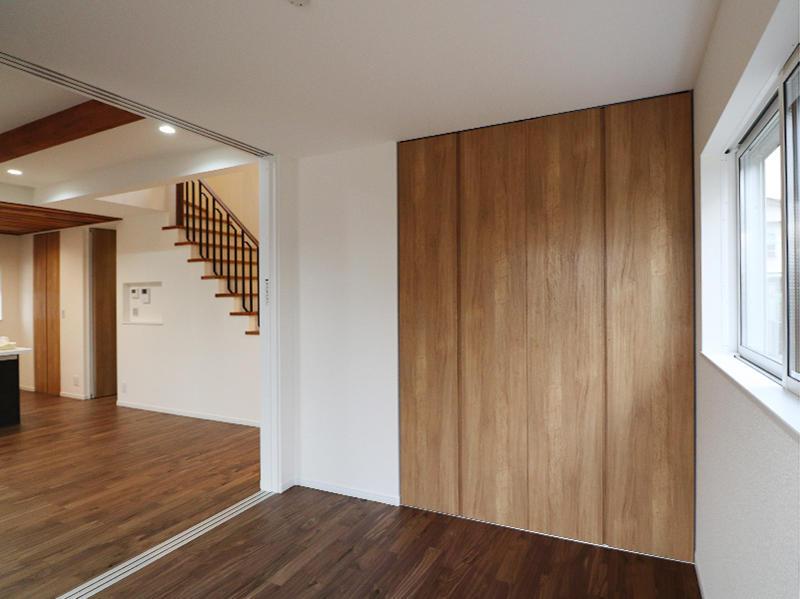 新築フォーセンス完成 リビング横洋室|滋賀で家を建てるなら匠工房