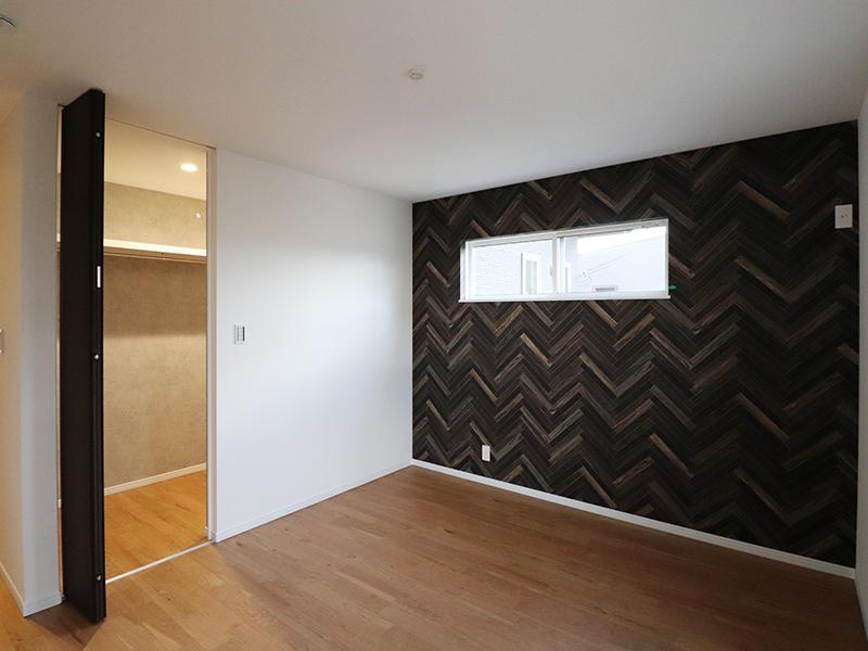 新築フォーセンス完成 アクセントクロス|滋賀で家を建てるなら匠工房