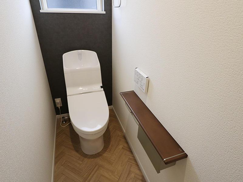 新築フォーセンス完成 トイレ 2階|滋賀で家を建てるなら匠工房