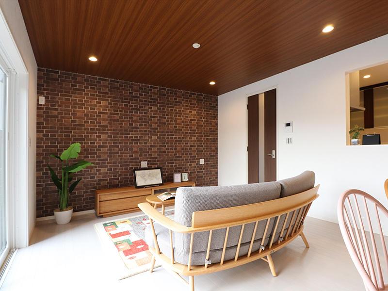 ゼロキューブ完成 リビング|滋賀で家を建てるなら匠工房
