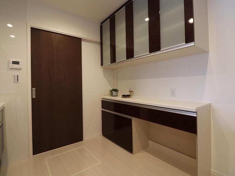 ゼロキューブ完成 カップボード|滋賀で家を建てるなら匠工房