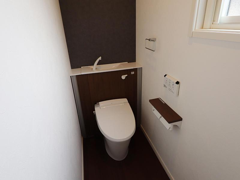 ゼロキューブ完成 トイレ|滋賀で家を建てるなら匠工房