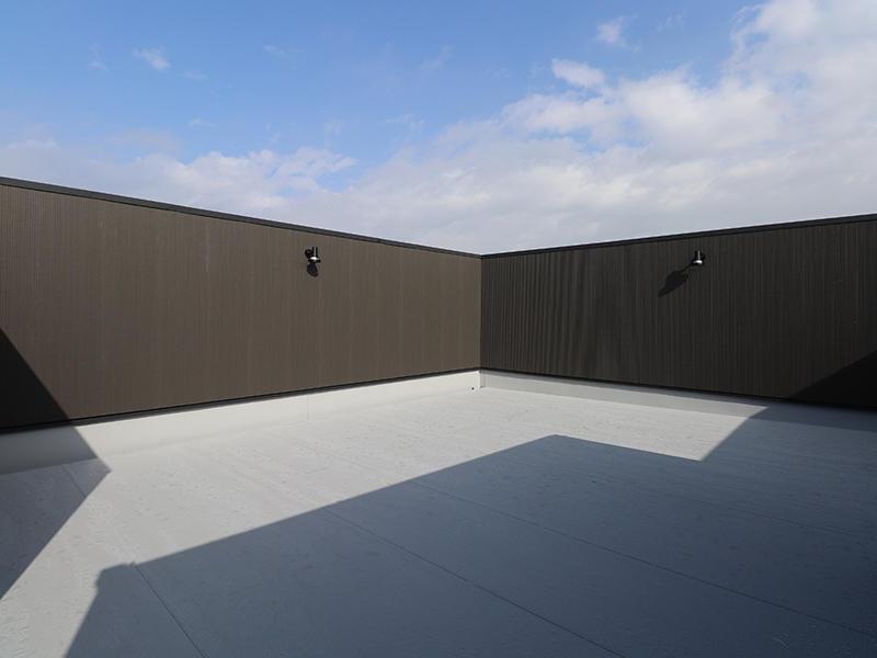 ゼロキューブ完成 スカイバルコニー|滋賀で家を建てるなら匠工房