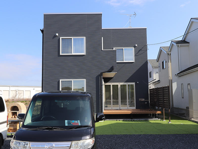 ゼロキューブ新築 外壁|滋賀で家を建てるなら匠工房