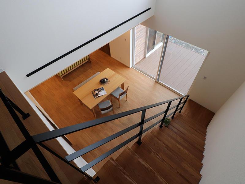 新築フォーセンス完成 吹き抜け|滋賀で家を建てるなら匠工房