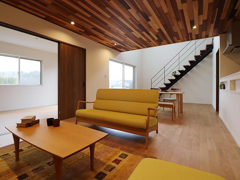 新築フォーセンス完成 リビング|滋賀で家を建てるなら匠工房