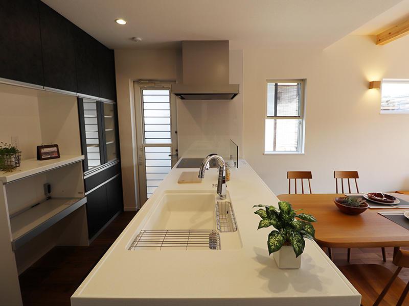 フォーセンス完成 キッチン|滋賀で家を建てるなら匠工房